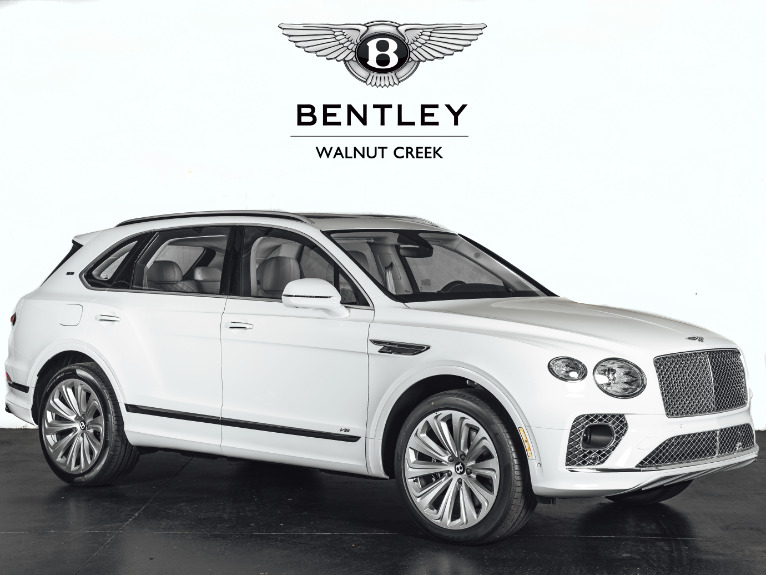 New 2021 Bentley Bentayga V8 for sale $227,790 at The Luxury Collection Walnut Creek in Walnut Creek CA