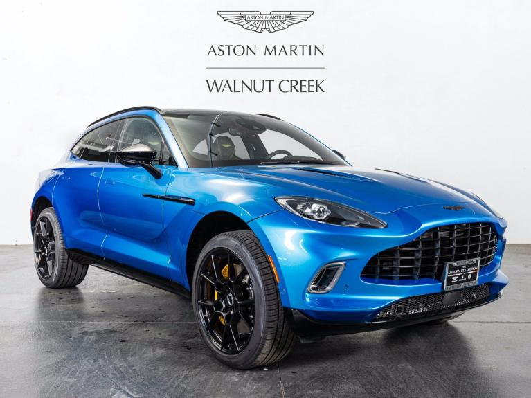 New 2021 Aston Martin DBX for sale $210,486 at The Luxury Collection Walnut Creek in Walnut Creek CA