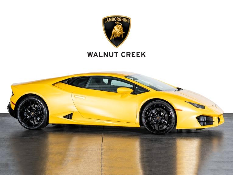 Used 2018 Lamborghini Huracan LP580-2 for sale $219,950 at The Luxury Collection Walnut Creek in Walnut Creek CA
