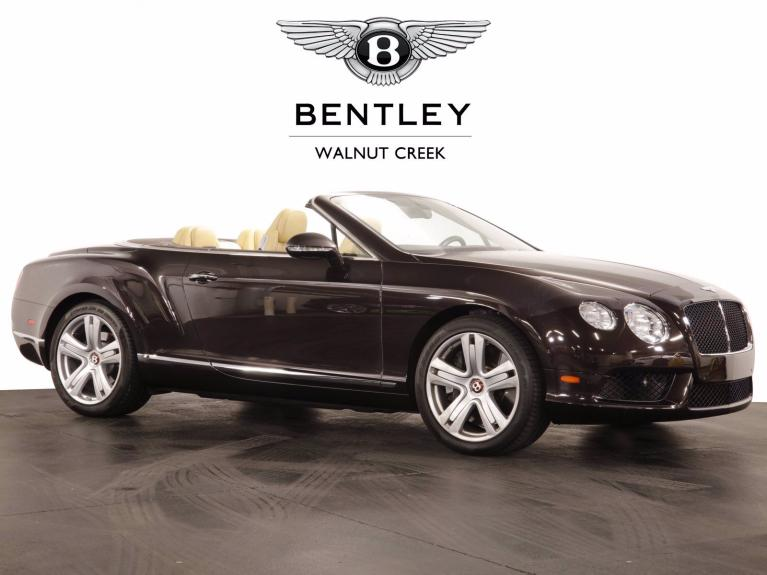 Used 2013 Bentley Continental GTC GT V8 Convertible for sale $107,991 at The Luxury Collection Walnut Creek in Walnut Creek CA