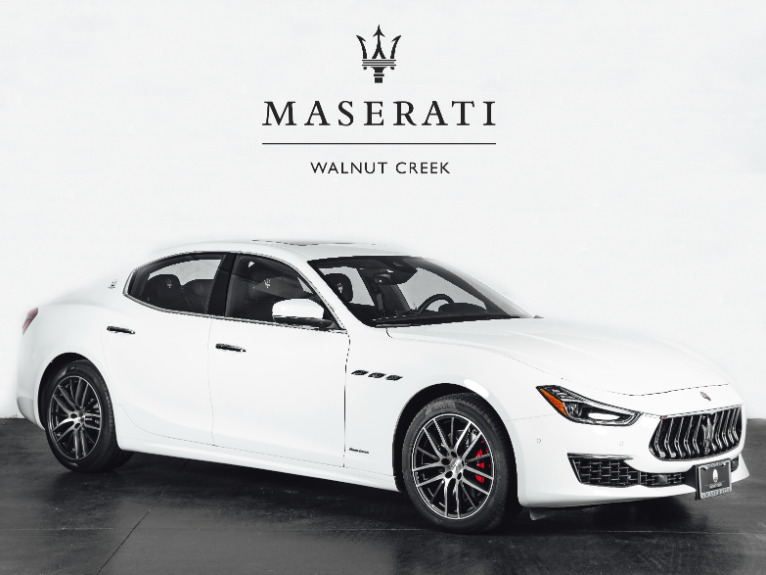 Used 2019 Maserati Ghibli GranLusso for sale $59,950 at The Luxury Collection Walnut Creek in Walnut Creek CA